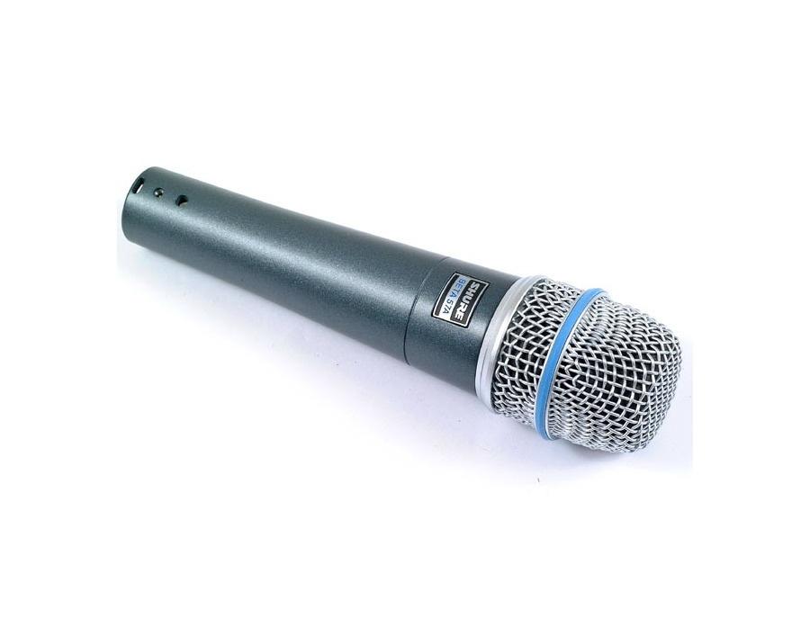 Shure beta 57a vocal microphone xl