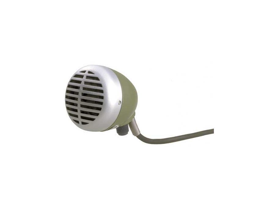Shure 520dx green bullet blues harmonica microphone xl