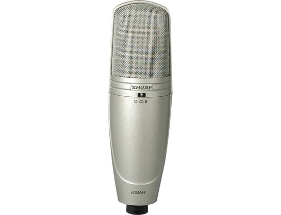 Shure KSM 44 Microphone Dual-Diaphragm Microphone