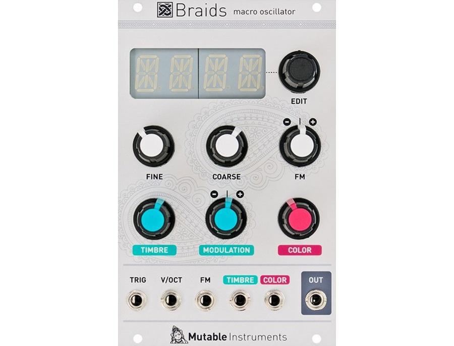 Mutable instruments braids macro oscillator module xl