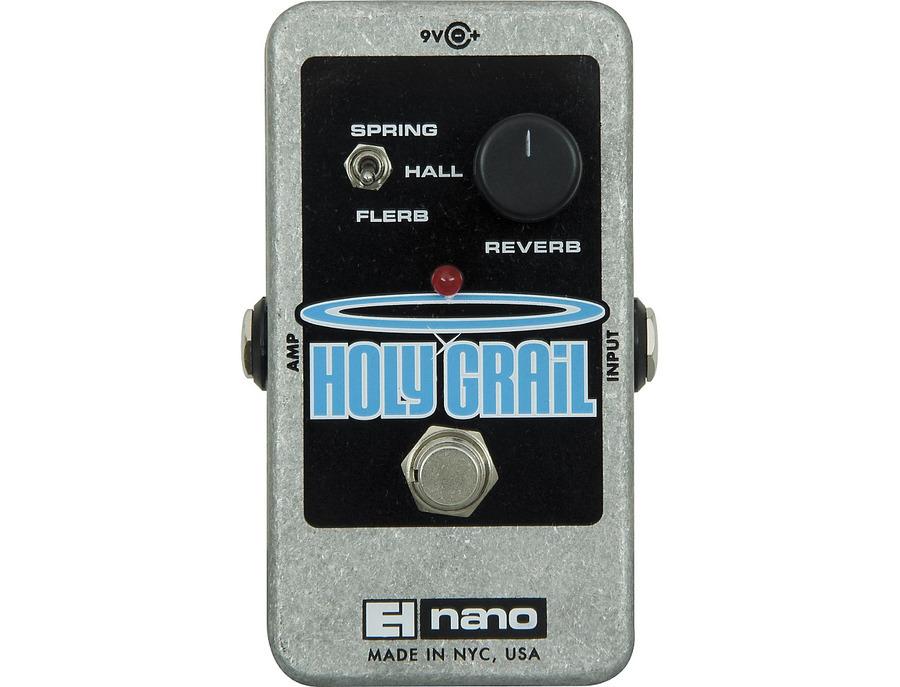 Electro harmonix holy grail nano reverb guitar effects pedal 01 xl