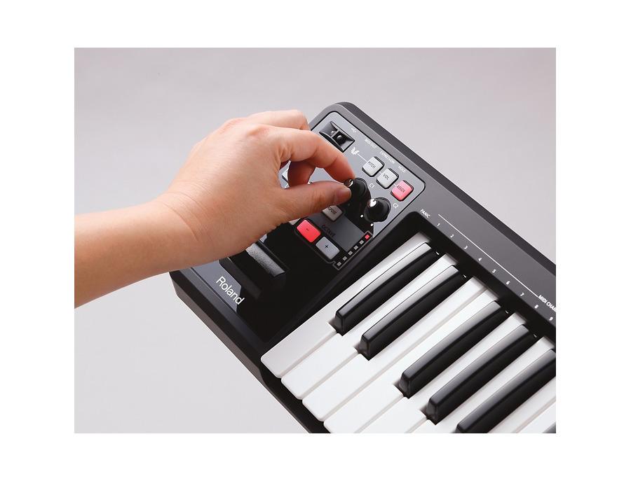 Roland a 49 midi keyboard controller black 01 xl