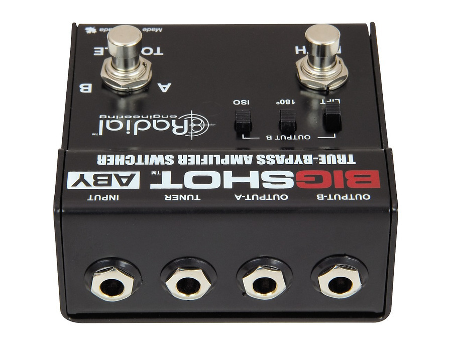 Radial engineering bigshot aby true bypass switcher 00 xl