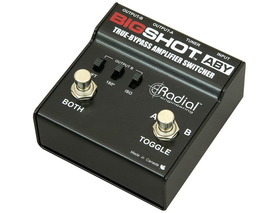 Radial engineering bigshot aby true bypass switcher 01 xl