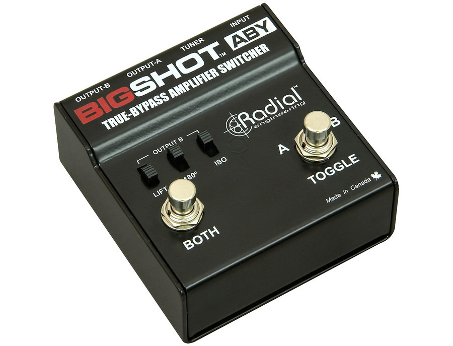 Radial engineering bigshot aby true bypass switcher 02 xl