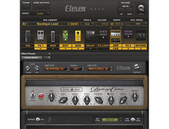 Avid eleven rack guitar multi effects processor and pro tools 03 s
