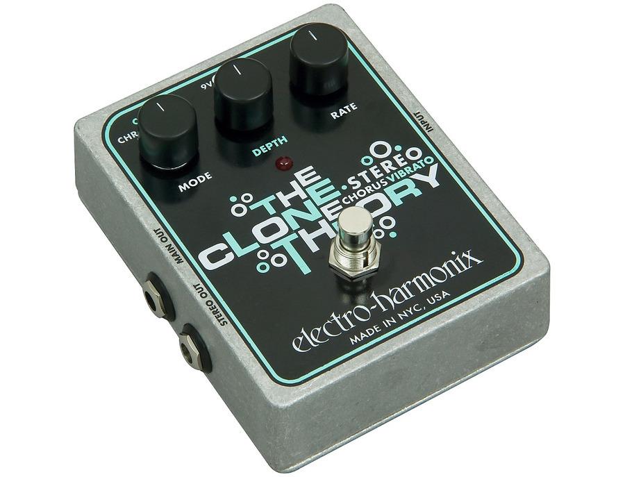 Electro harmonix xo stereo clone theory analog chorus vibrato guitar effects pedal 01 xl