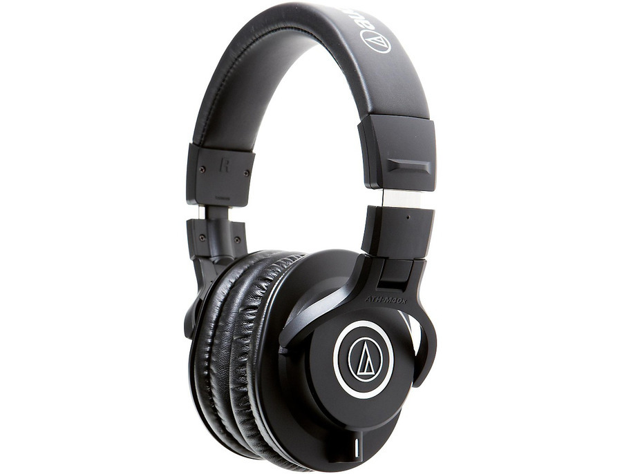 Audio technica ath m40x closed back professional studio monitor headphones 01 xl