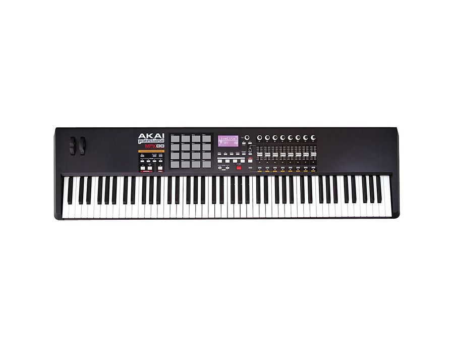 Akai professional mpk88 keyboard and usb midi controller 00 xl