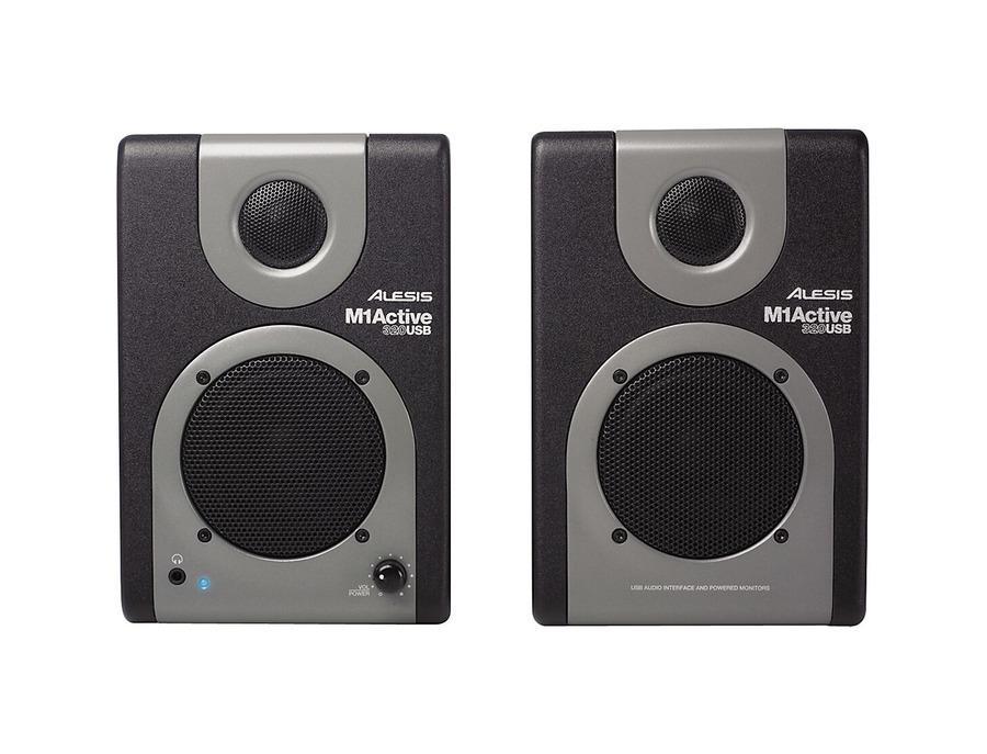 Alesis m1 active 320 usb studio monitor pair 00 xl