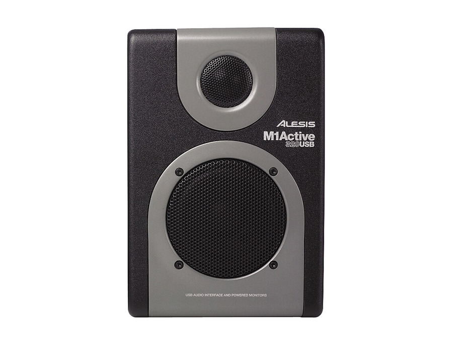 Alesis m1 active 320 usb studio monitor pair 02 xl