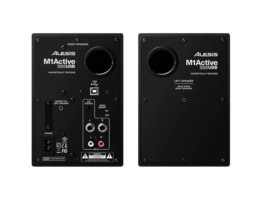 Alesis m1 active 320 usb studio monitor pair 04 xl