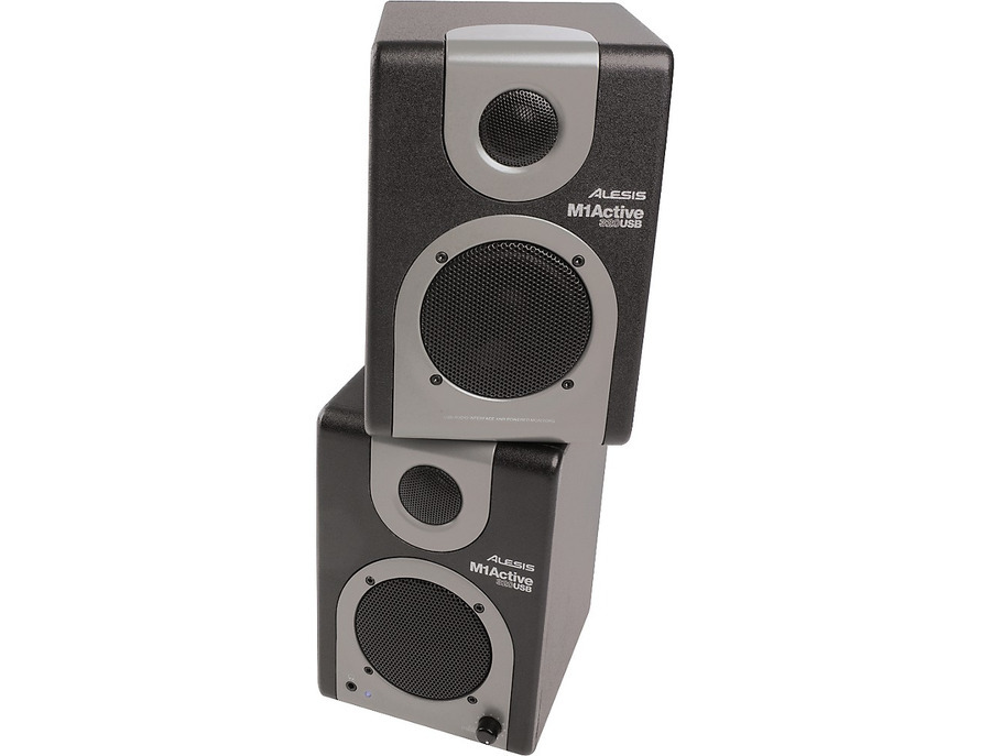 Alesis m1 active 320 usb studio monitor pair 05 xl