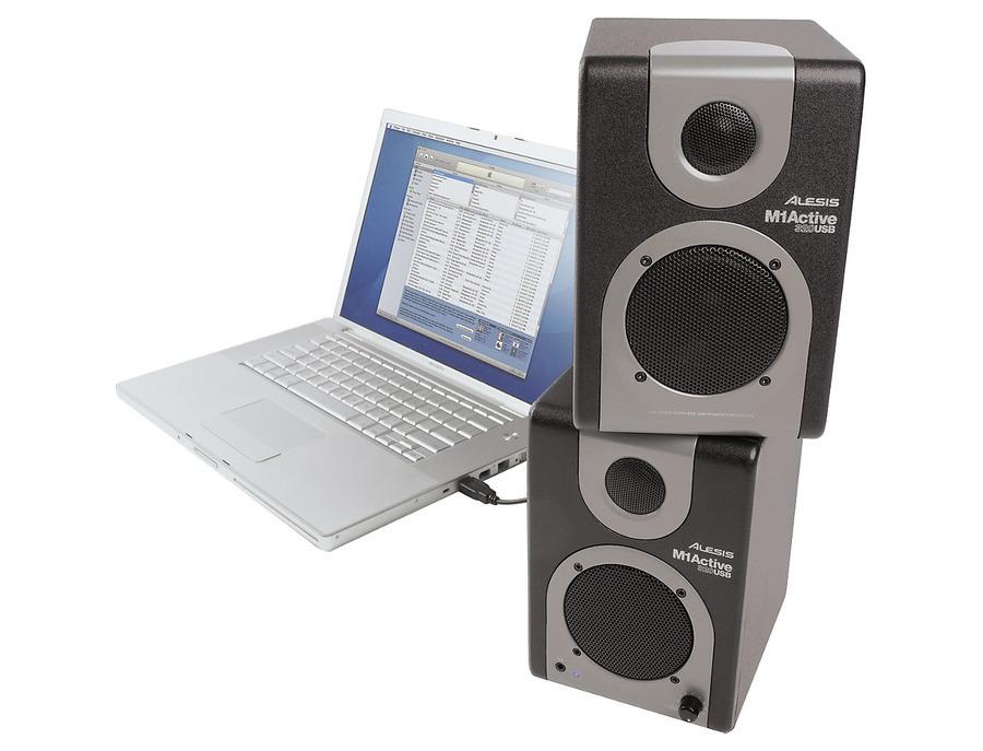 Alesis m1 active 320 usb studio monitor pair 06 xl