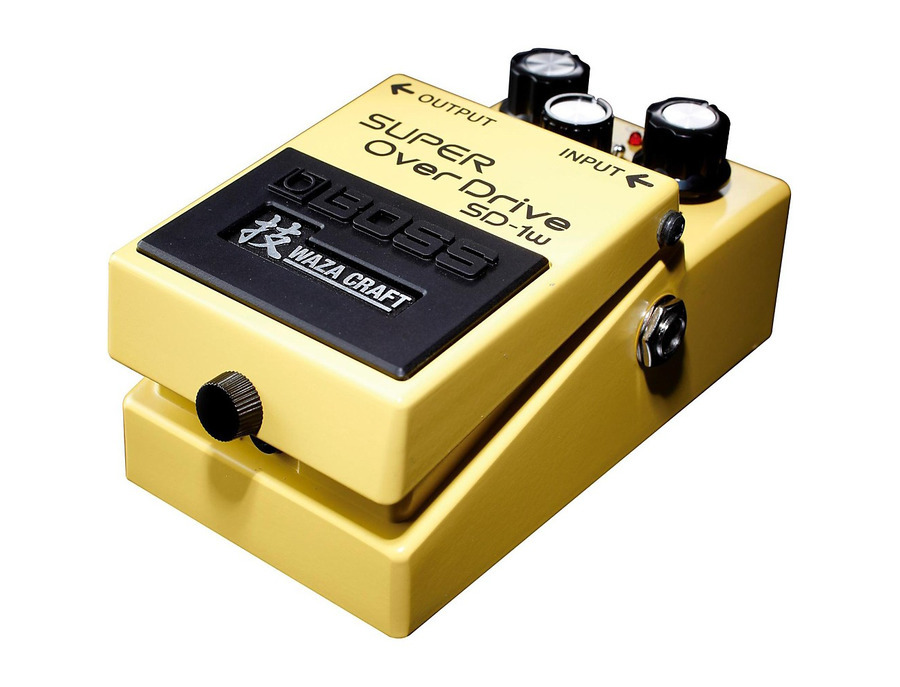 Boss sd 1w super overdrive waza craft pedal 01 xl