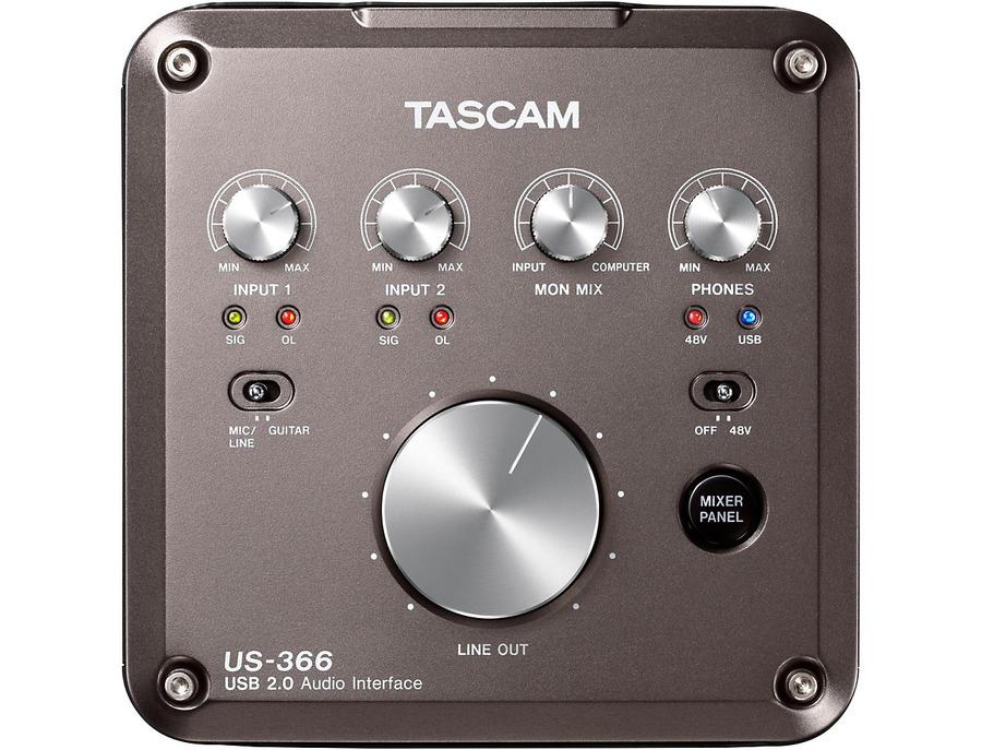 Tascam us 366 usb audio interface 00 xl