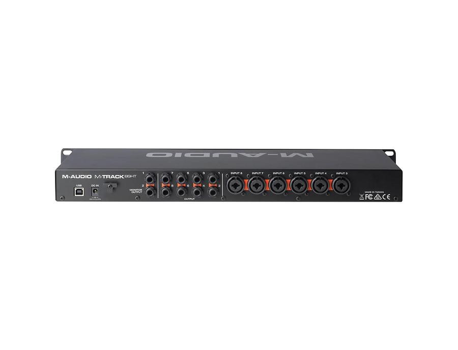 M audio mtrack eight 00 xl