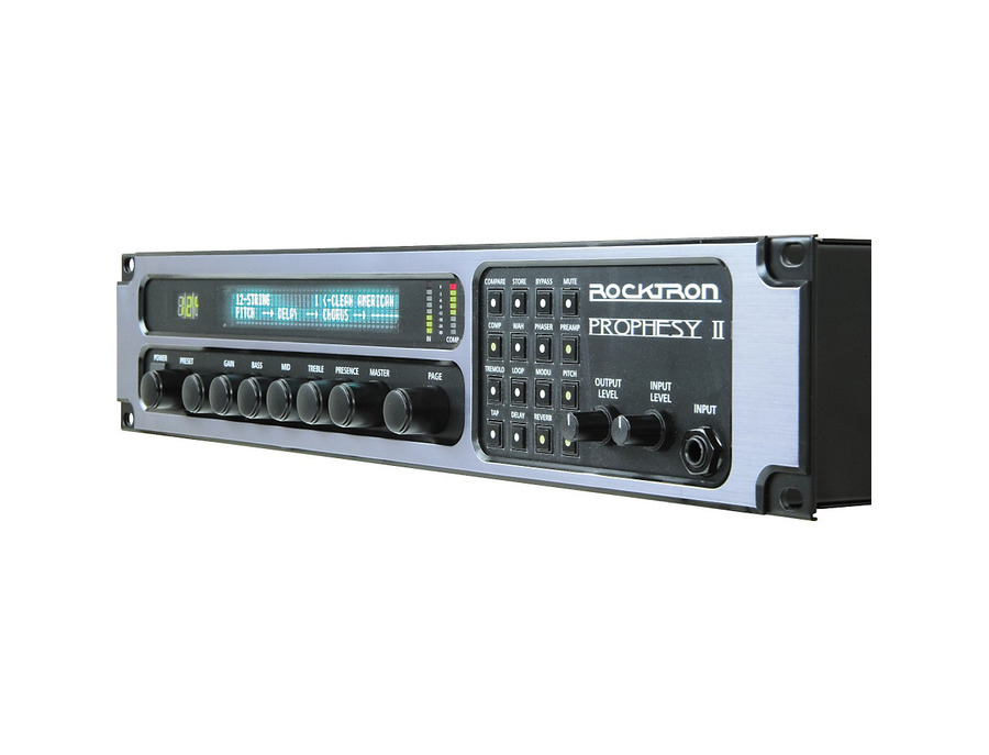 Rocktron prophesy ii 4 channel rackmount guitar preamp and effects processor 01 xl