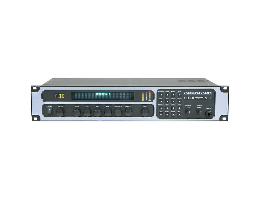 Rocktron prophesy ii 4 channel rackmount guitar preamp and effects processor 03 xl