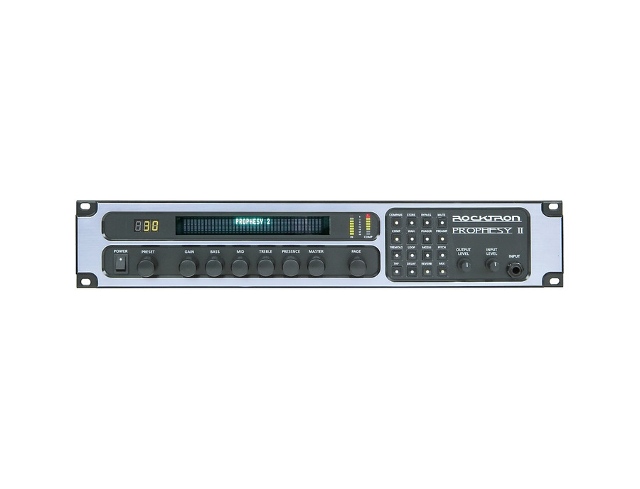 Rocktron prophesy ii 4 channel rackmount guitar preamp and effects processor 05 xl