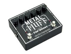 Electro hamonix metal muff with top boost 01 s