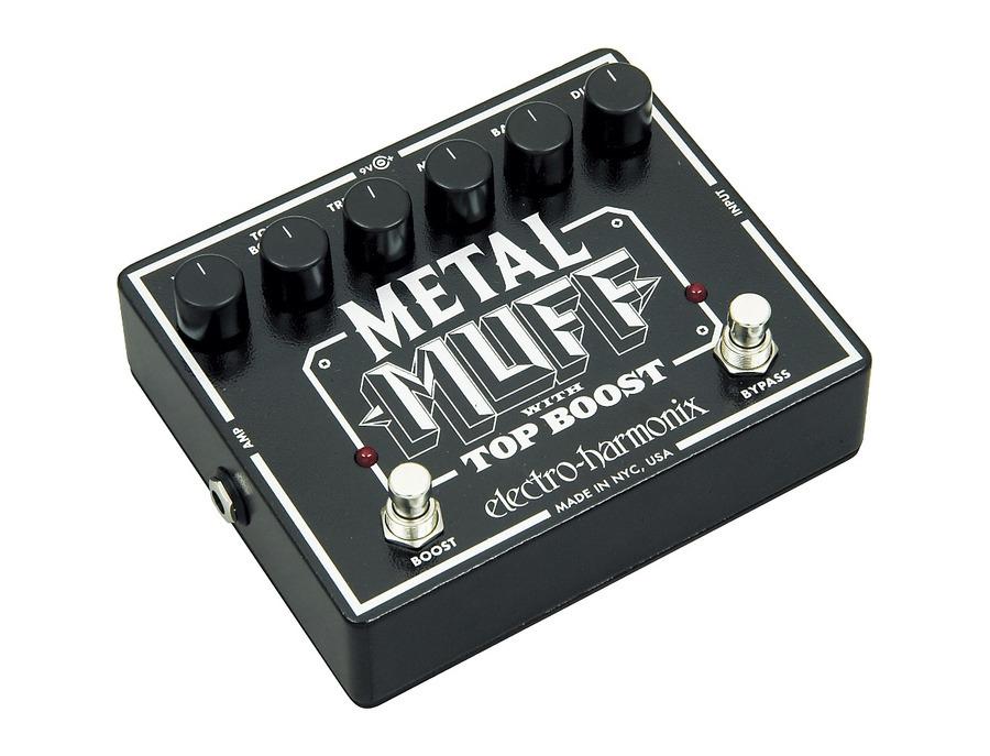 Electro hamonix metal muff with top boost 01 xl