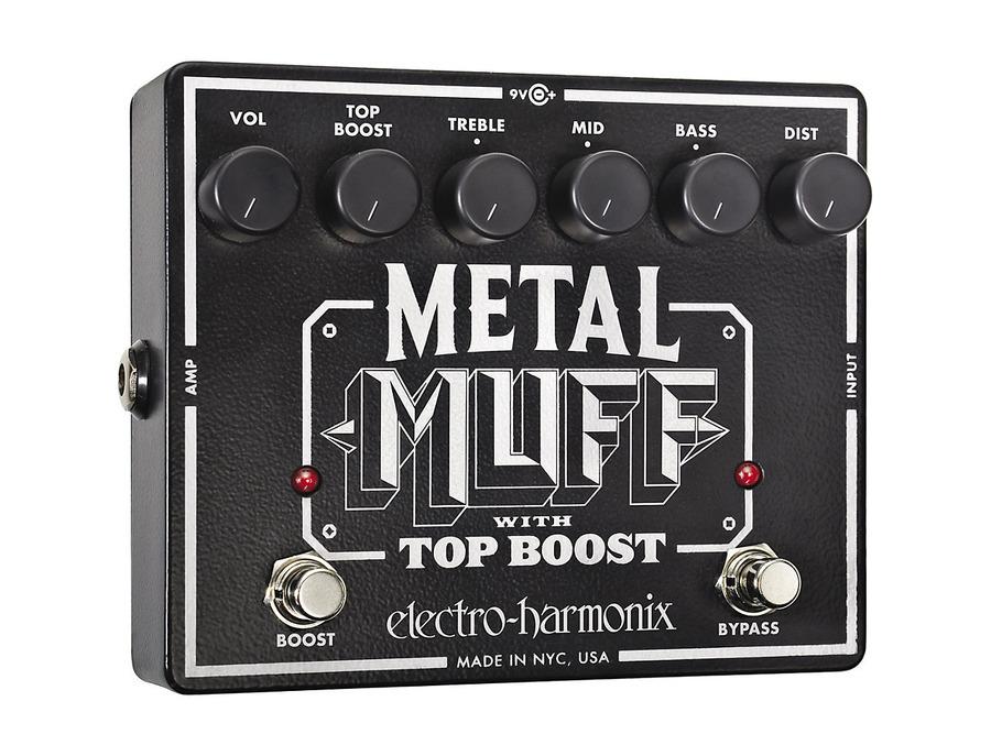 Electro hamonix metal muff with top boost 02 xl