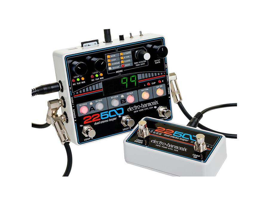 Electro harmonix 22500 dual stereo looper 00 xl