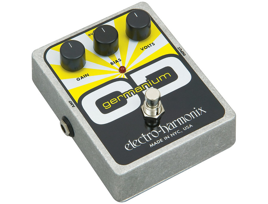 Electro harmonix xo germanium od overdrive guitar effects pedal 01 xl