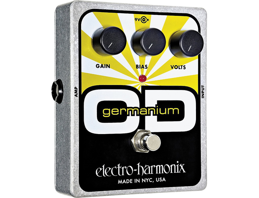 Electro harmonix xo germanium od overdrive guitar effects pedal 02 xl