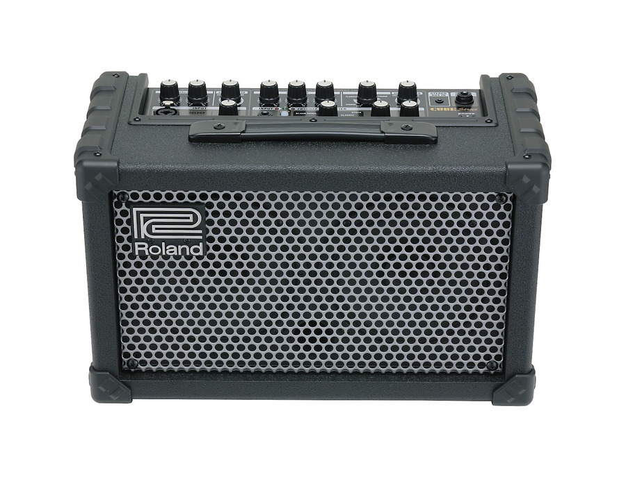 Roland cube street battery powered stereo guitar combo amp 00 xl