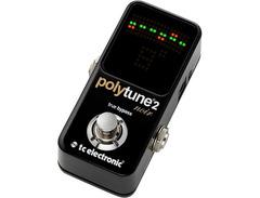 Tc electronic polytune noir mini 2 pedal tuner 00 s