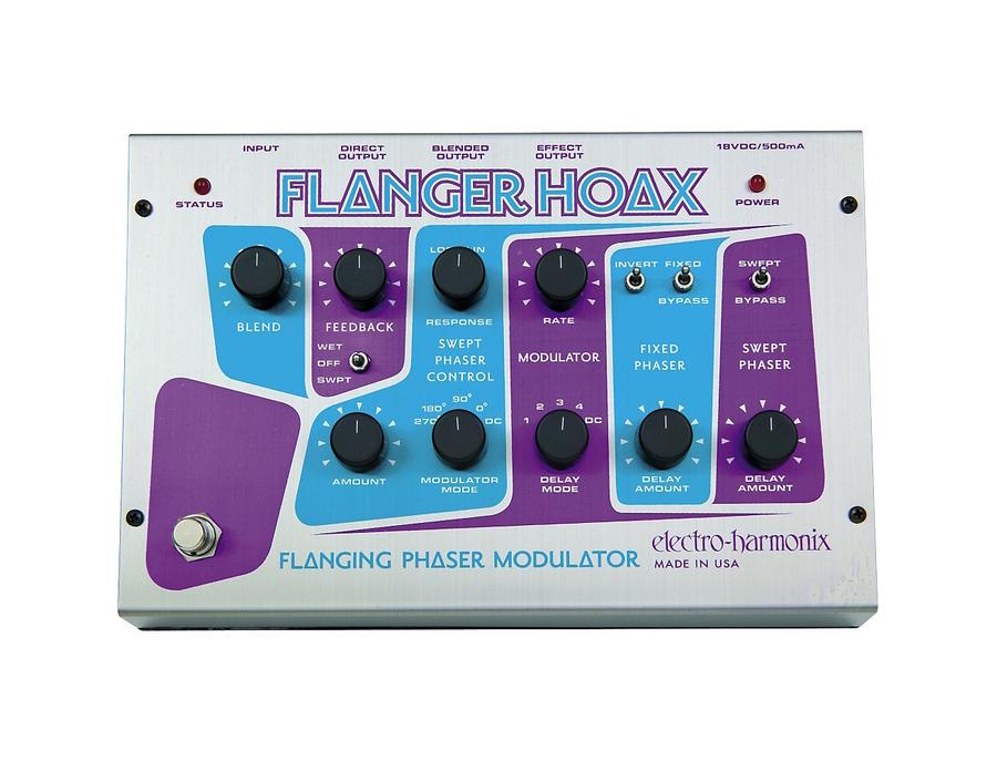 Electro harmonix flanger hoax phaser flanger modulator 01 xl