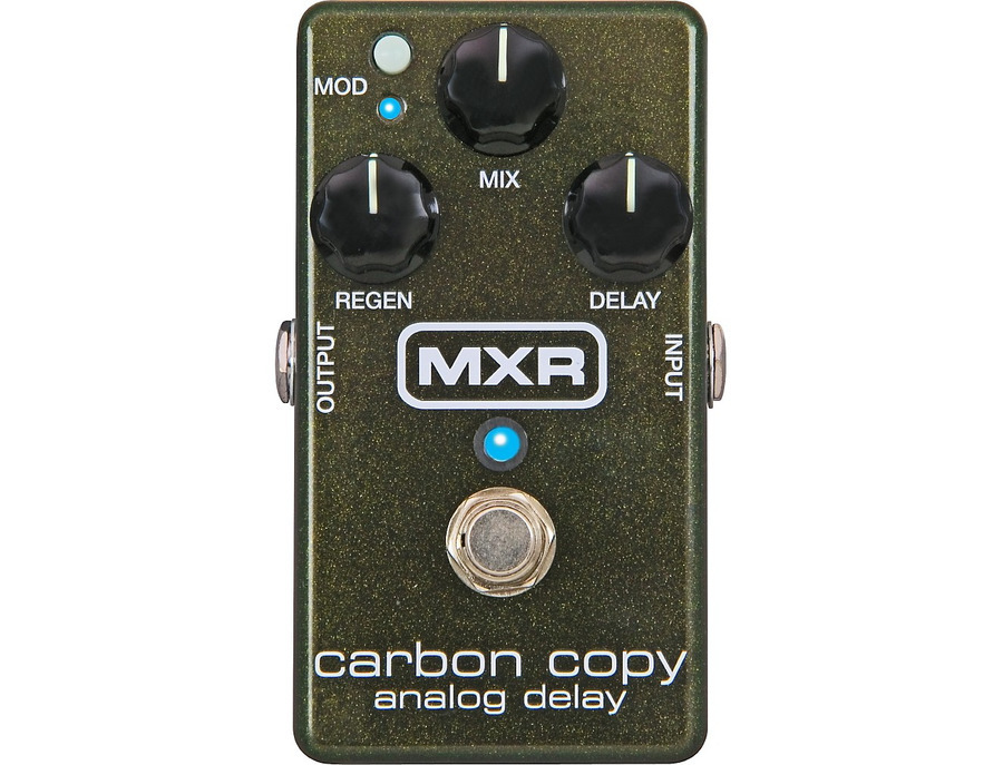 Mxr carbon copy analog delay 01 xl