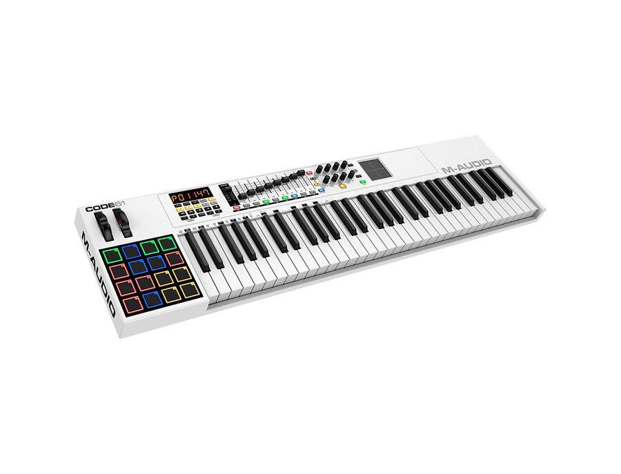 M audio code 61 midi controller keyboard 00 xl