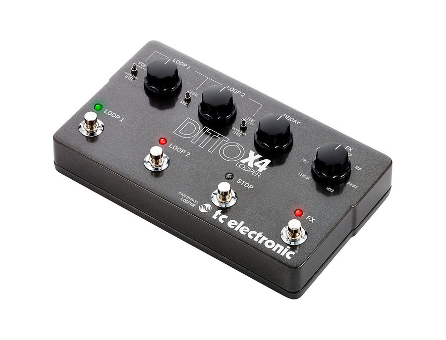 Tc electronic ditto x4 looper 01 xl