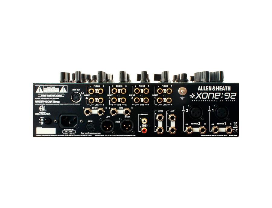 Allen heath xone 92 6 channel dj mixer 00 xl