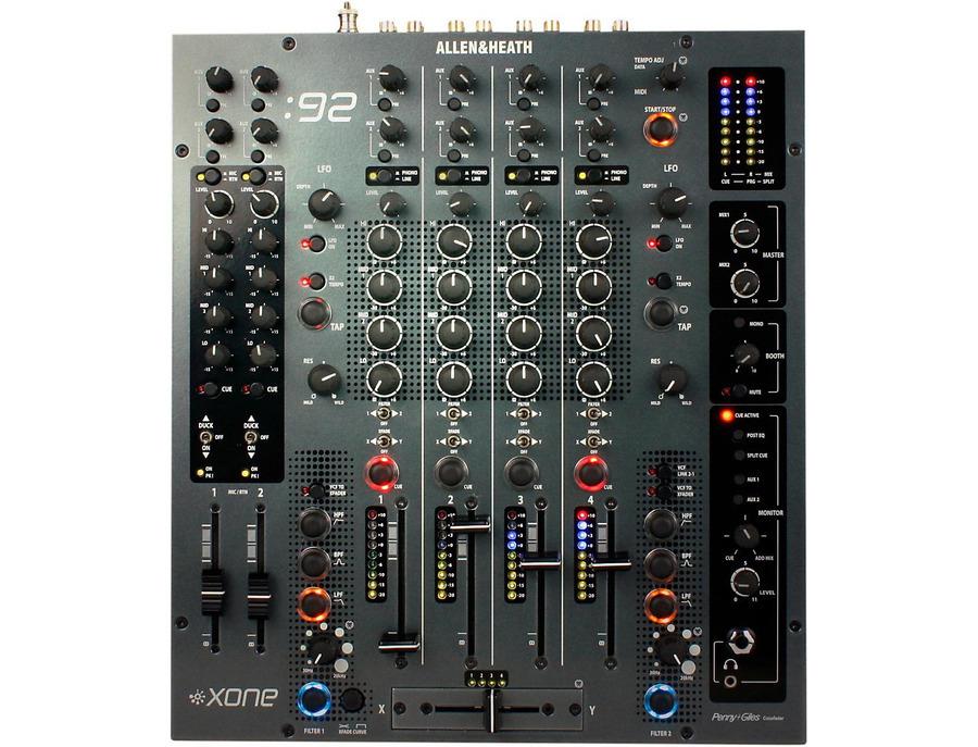 Allen heath xone 92 6 channel dj mixer 01 xl