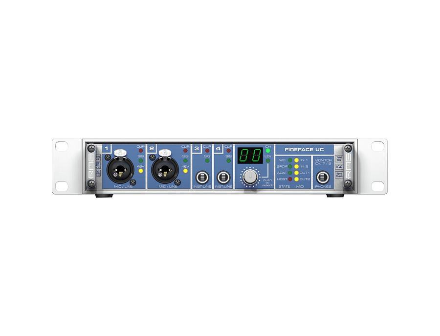 Rme fireface uc usb audio interface 01 xl