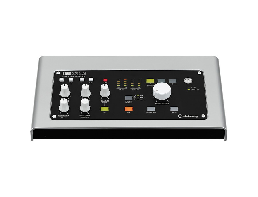 Steinberg ur28m usb 2 0 audio interface with dsp fx 00 xl