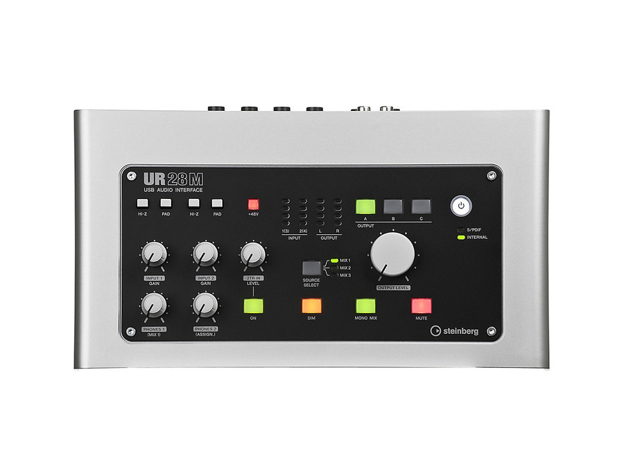 Steinberg ur28m usb 2 0 audio interface with dsp fx 04 xl