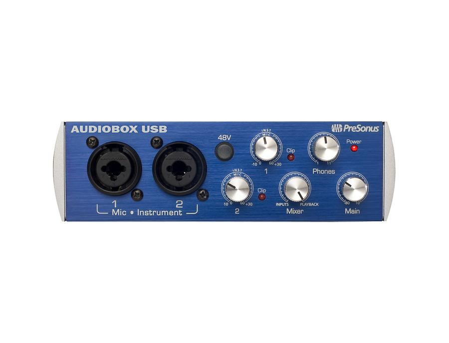 Presonus audiobox usb 2x2 audio recording interface 00 xl