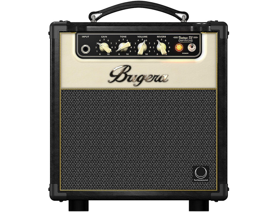 Bugera v5 infinium 5w 1x8 all tube guitar combo amp 00 xl