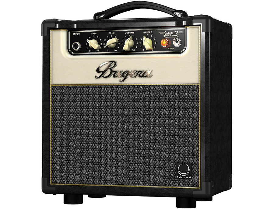 Bugera v5 infinium 5w 1x8 all tube guitar combo amp 02 xl