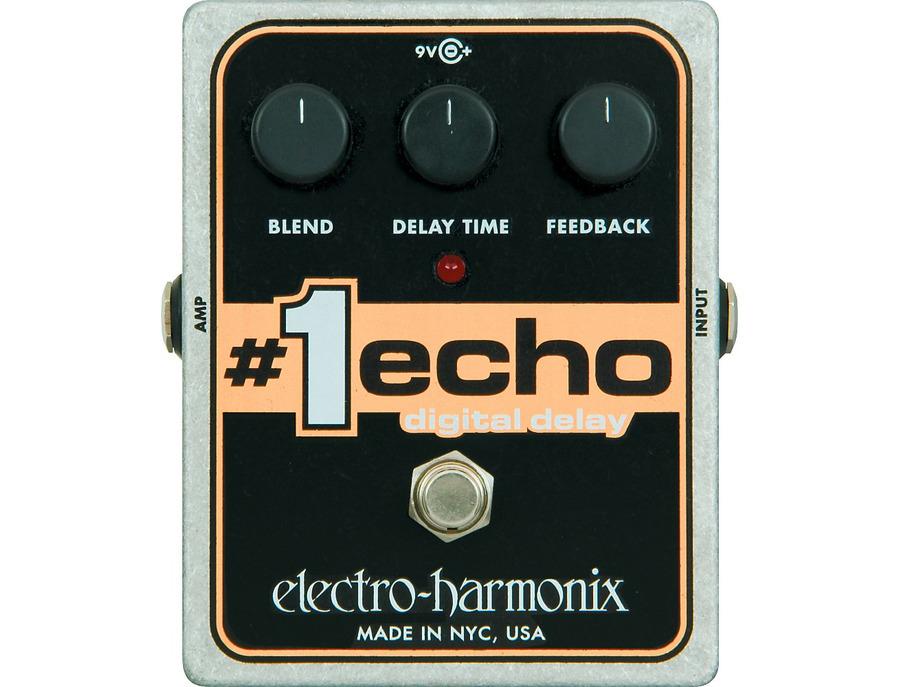 Electro harmonix 1 echo digital delay guitar effects pedal 01 xl