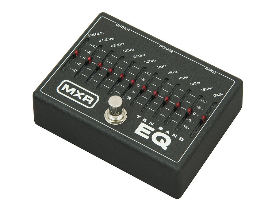 Mxr m 108 ten band graphic equalizer pedal 00 xl