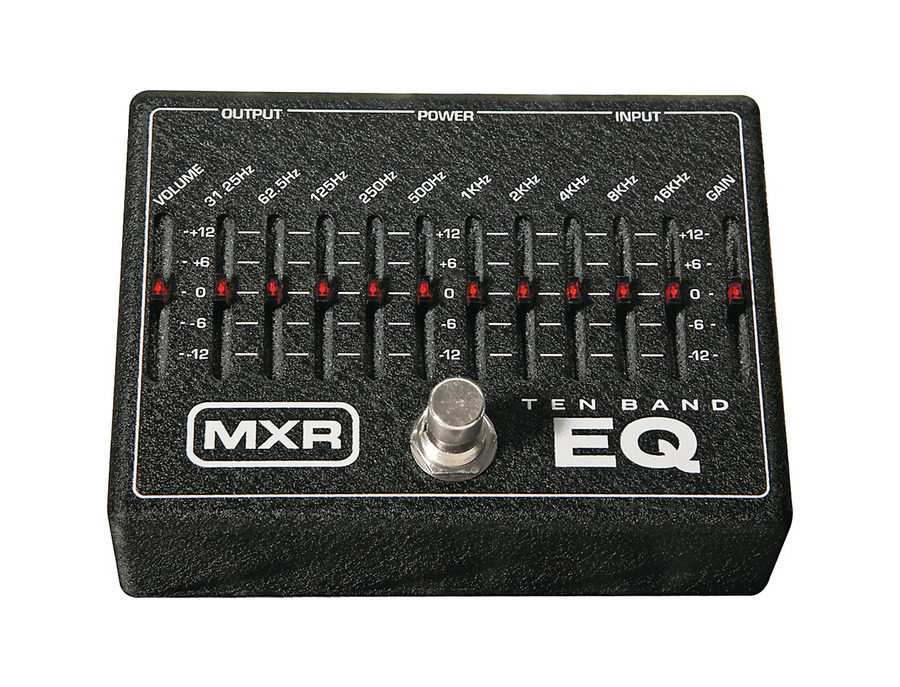 Mxr m 108 ten band graphic equalizer pedal 01 xl