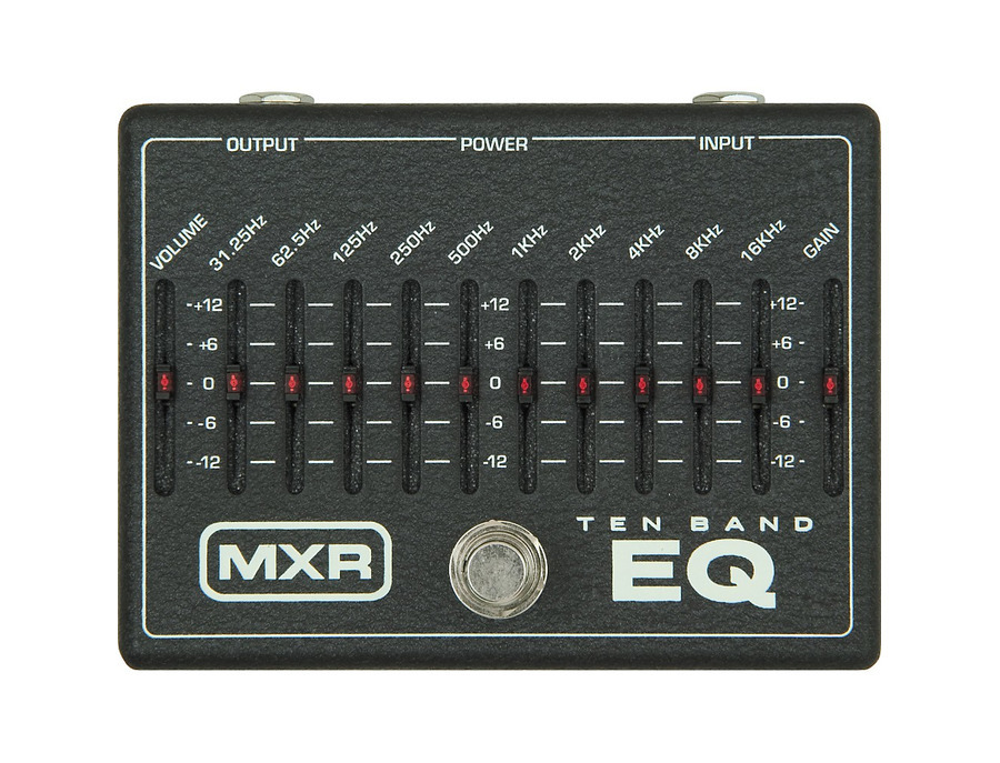 Mxr m 108 ten band graphic equalizer pedal 02 xl
