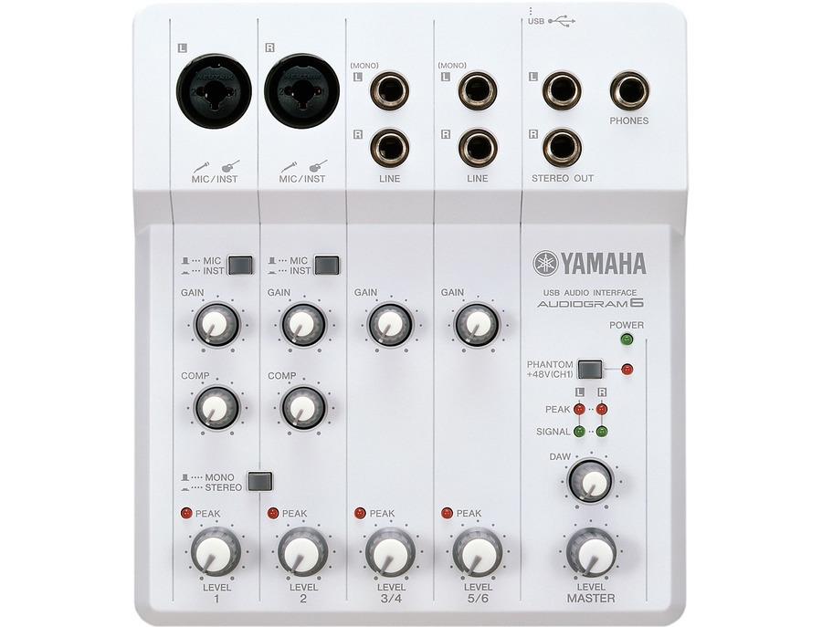 Yamaha audiogram 6 usb audio interface 00 xl