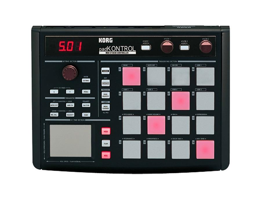 Korg padkontrol usb drum pad studio controller 00 xl